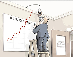 Budget-Deficit-sized