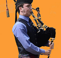 bagpiper-sized
